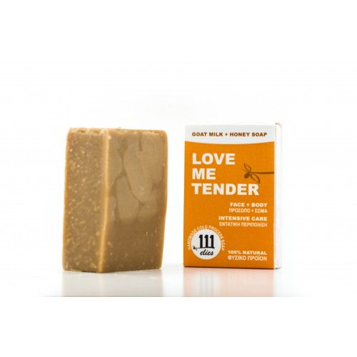 LOVE ME TENDER-goat milk+honey soap