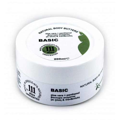 BASIC-aloe vera + panthenol body butter